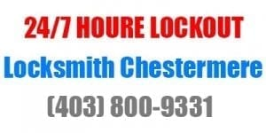 24 hour Chestermere locksmith