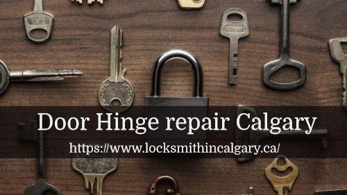 Door Hinge repair Calgary